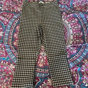 Hollister Plaid Tapered Pants